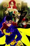Bat girl VS lovely...? bad girls
