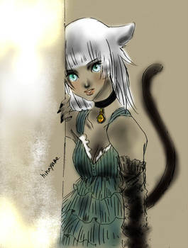 OC cat girl Letty #2
