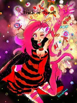 HALLOWEEN-Felicia I want candies too!-