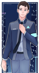 DBH: Connor by OtakuGirl98