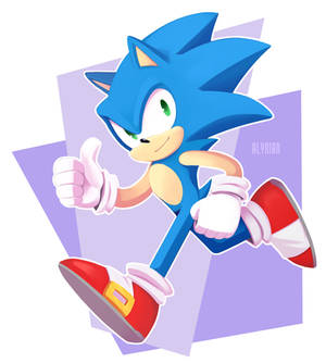 Here, have a blue boi
