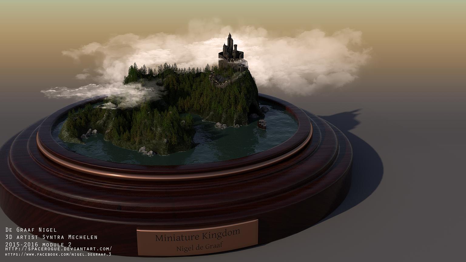 Miniature-Kingdom by spacerogue