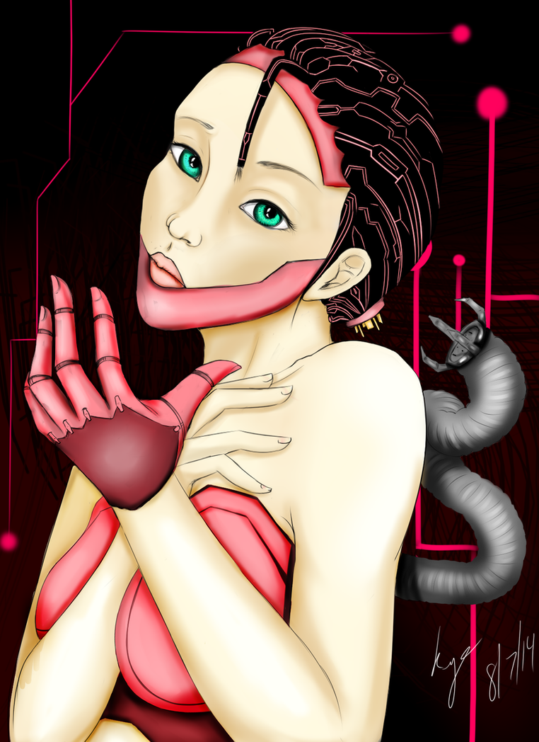 Am I Human or Machine? by Kyoky-San