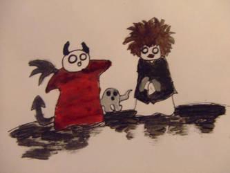Robert Smith,devil,ghost by ghost-chiildren