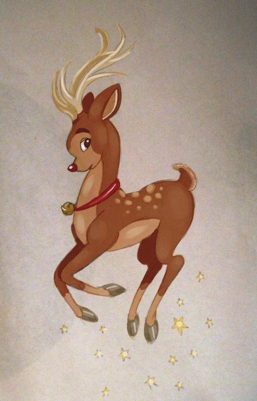 Rudolph by vanillapod1