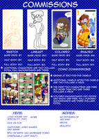 Commissions: Always Open :) by GrandMassaSpectre