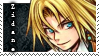 final fantasy 9 zidane stamp by grapsen