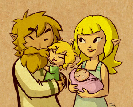 Link and Aryll's Parents