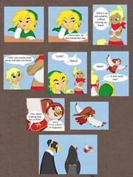 LoZ: ToT Page 1 by BeagleTsuin
