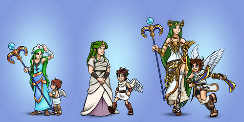 Kid Icarus: Throughout The Years