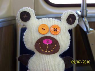 Felt teddy 2