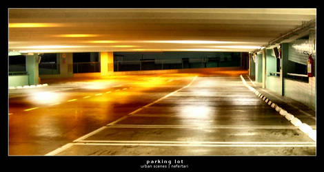 Parking Lot - Exposure by nefertari