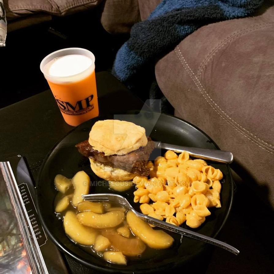 beer steak mac apples by michelous