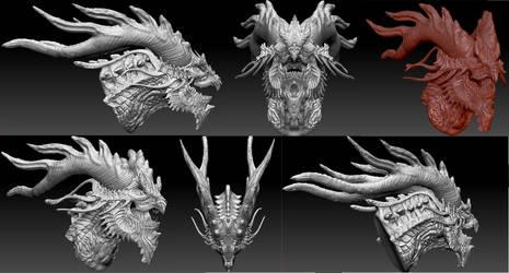 Death Eater dragon by Dragonio3