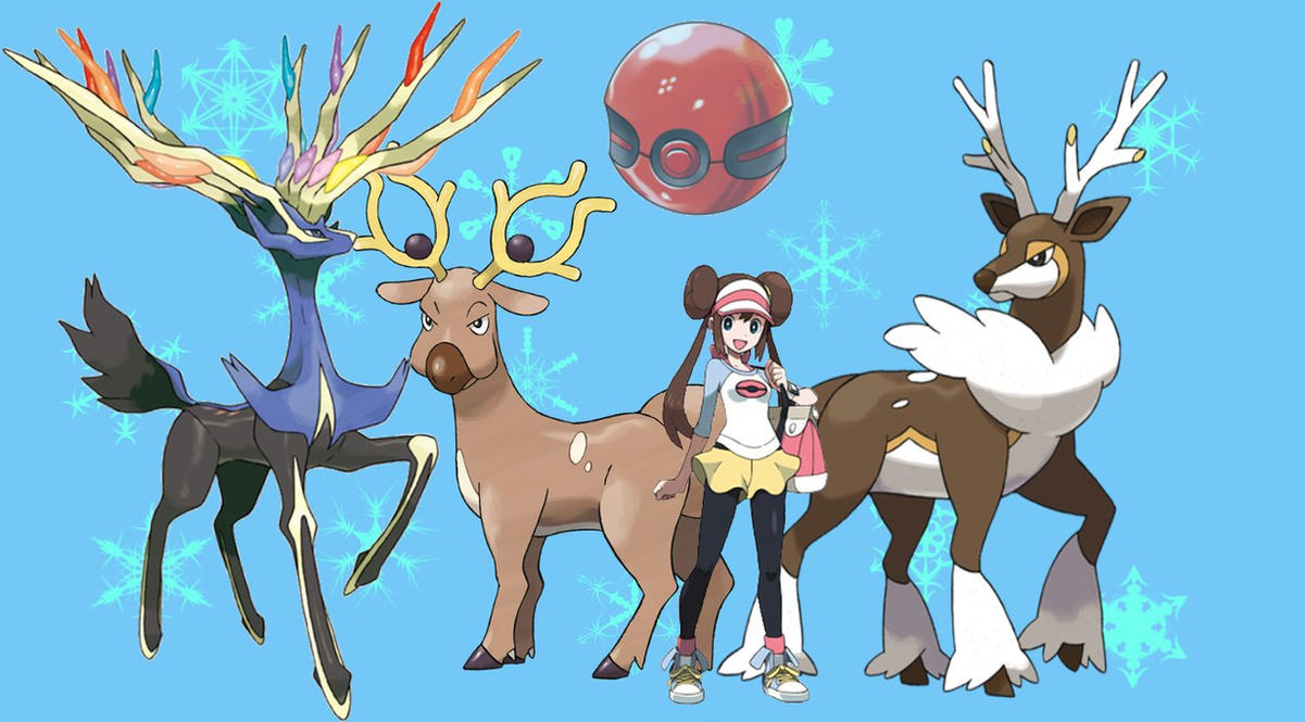 Deer Pokemon By Ykcorp On Deviantart