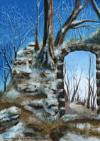 the archway winter by RAY-N-BOW