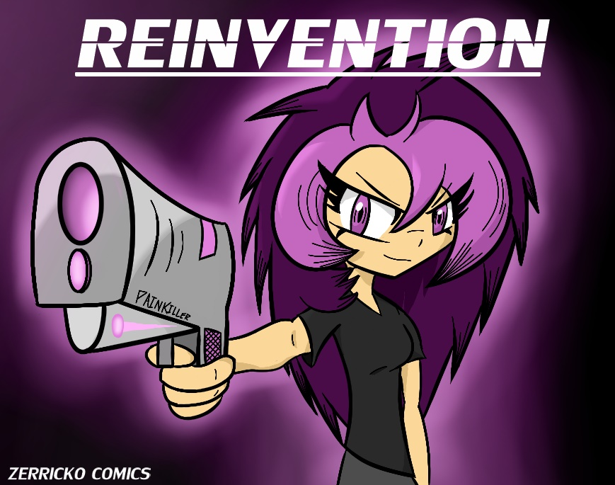 Reinvention Cover by ZachPeeples