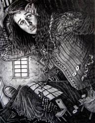 Alice in the Rabbit's House by phantomnova