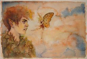 Peter and Tink by phantomnova