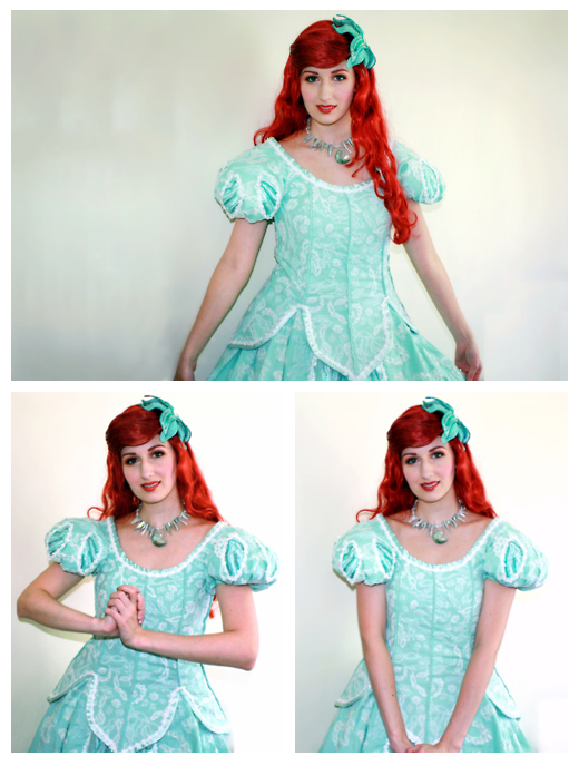 Theme Park Ariel Cosplay by phantomnova