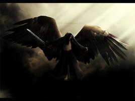 Angel of death descends