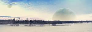 Winter on a strange planet