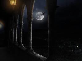 Dark castle by black-cat16