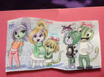 Sneaky and Family by tonoly21