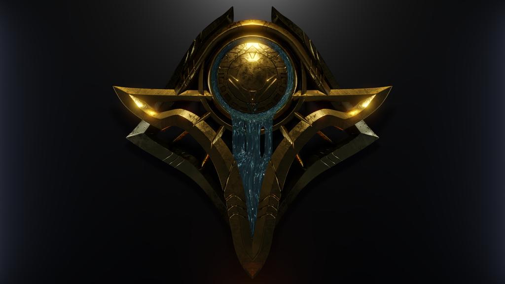 Shurima's Crest by DemonizedSilver