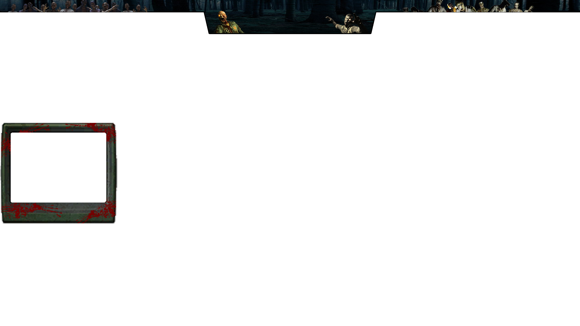 Zombie twitch overlay by kaffemlg on deviantart for Free twitch overlay template