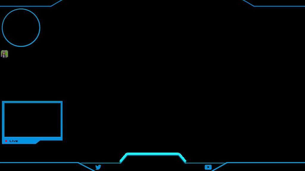 Pubg Hd Wallpaper Png: Counter Strike Go Overlay Light Blue By KaffeMLG On DeviantArt
