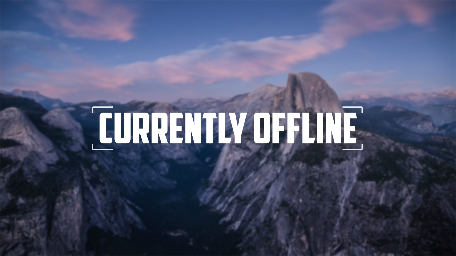 Current offline screen for twitch by KaffeMLG