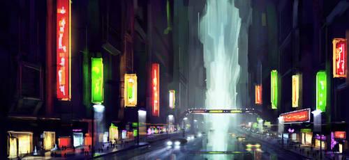 Night city by malachi78