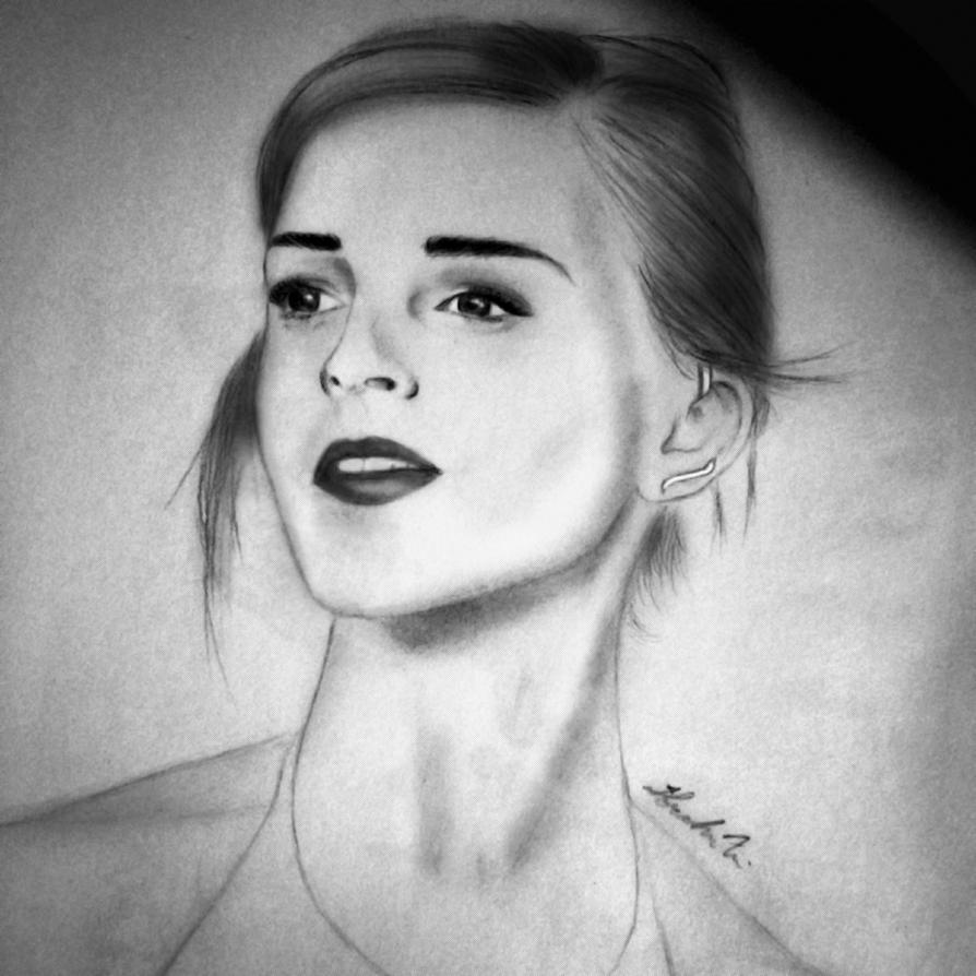 Emma Watson by IbrahimAl-sahaf
