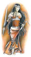 Elven warrior princess