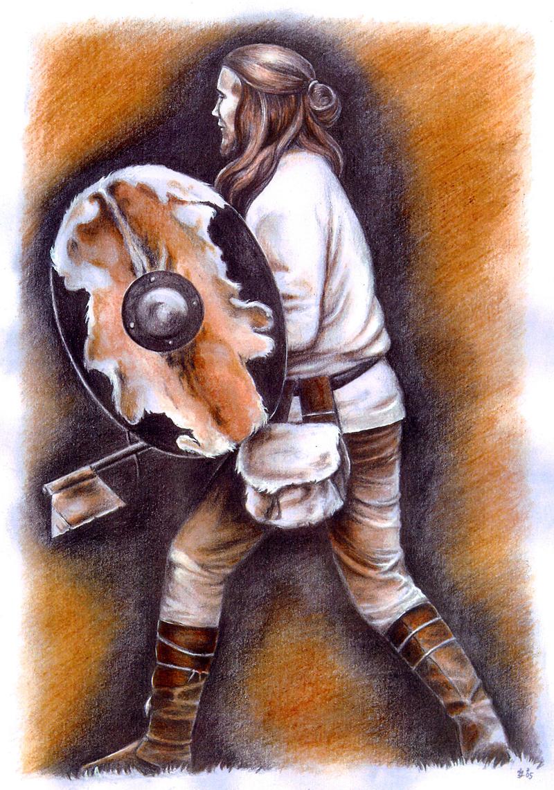Slavic warrior by jankolas