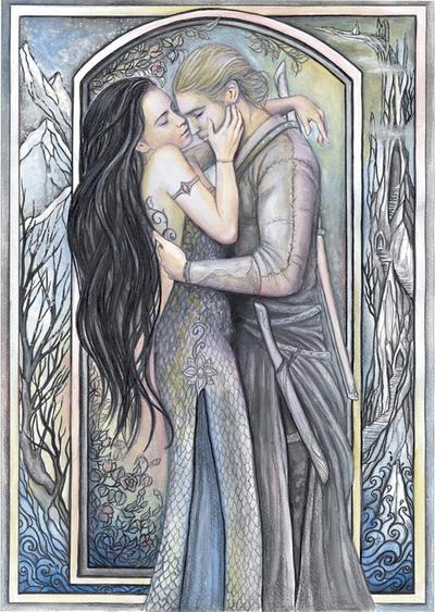 Phedre and Joscelin by jankolas