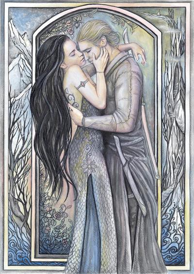 Phedre and Joscelin