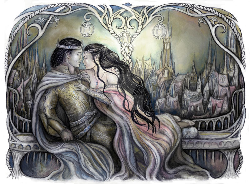 King and his Queen by JankaLateckova