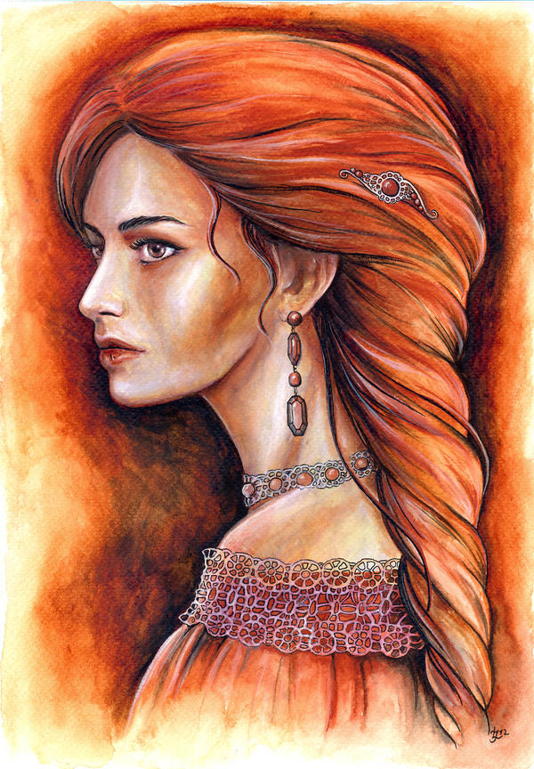 Portrait of a Lady by jankolas