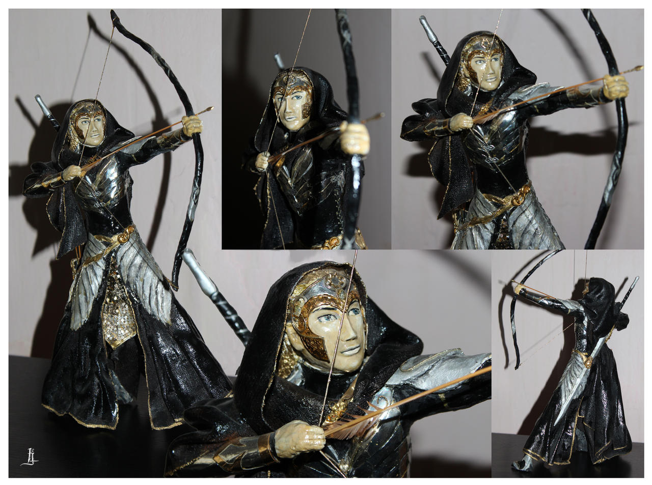 Statue - Elf by jankolas