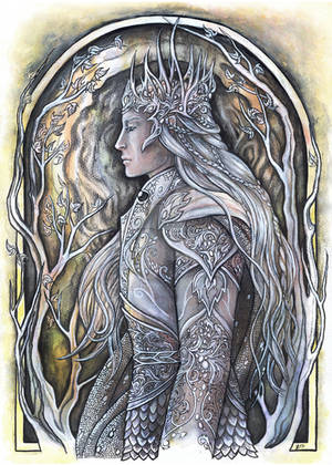 Elven King by JankaLateckova