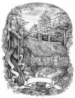 The Rose Cottage by JankaLateckova