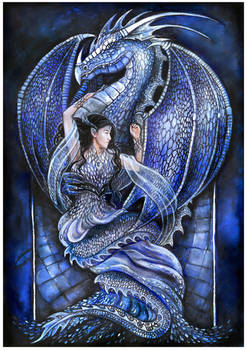 Dragon's bride (blue)