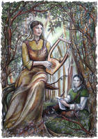 Jaylen and Christopher by JankaLateckova