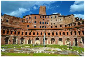 Trajan's Market by JankaLateckova