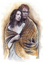 Jamie and Claire by JankaLateckova