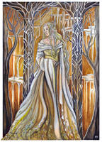 Queen of Mirkwood by JankaLateckova