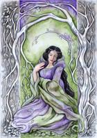 Nienna, the Lady of Mercy by JankaLateckova