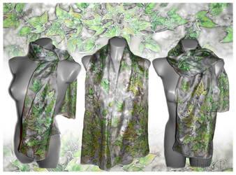Silver and green by JankaLateckova